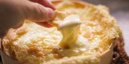 baked cheese fondue