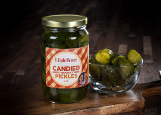 candied sweet orange pickles