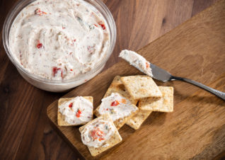 Dried beef cheese spread