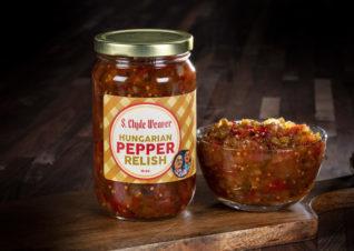 Hungarian pepper relish