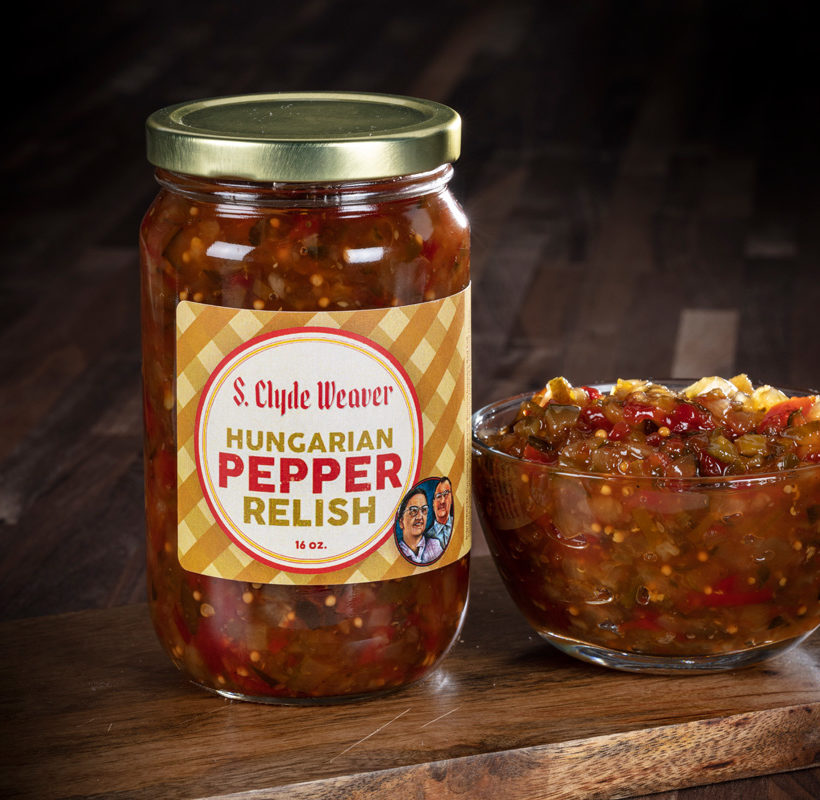 Hungarian pepper relish