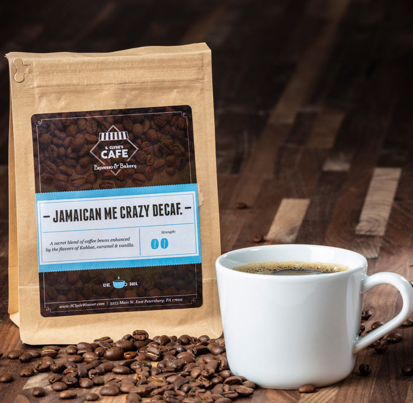 decaf Jamaican me crazy coffee