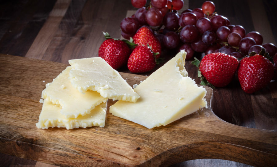 sharp Conestoga cheddar cheese