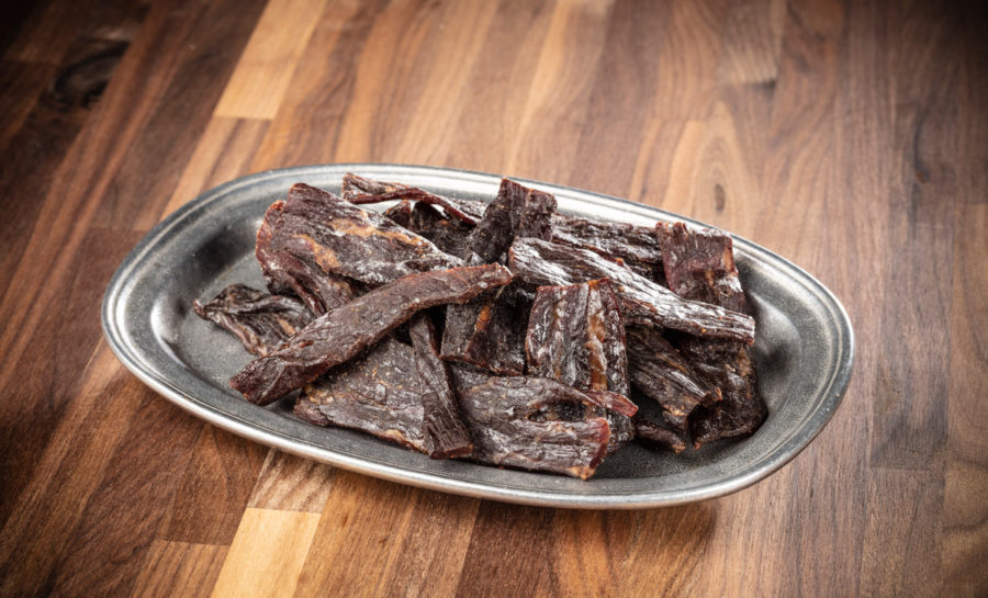 Lancaster style beef jerky