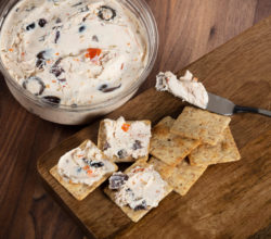 Mediterranean Olive Cheese Spread
