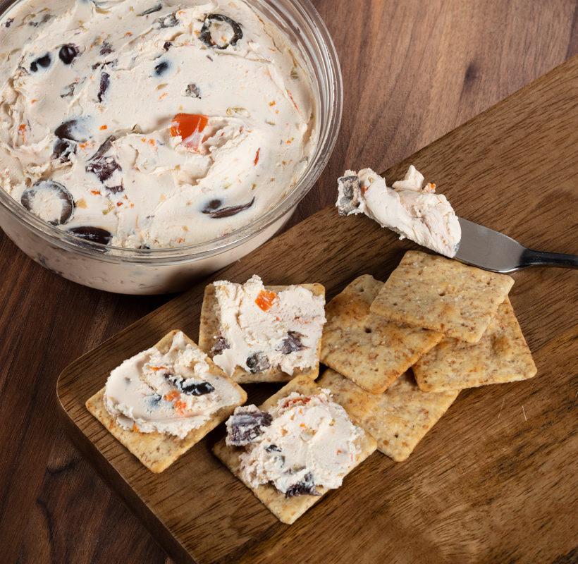 Mediterranean Olive Cheese Spread
