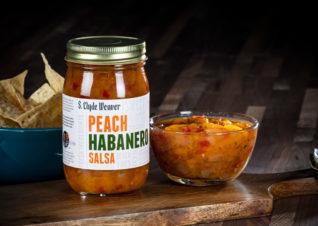 peach habanero salsa