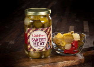 sweet heat mixed pickles