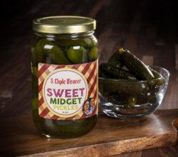 sweet midget pickles