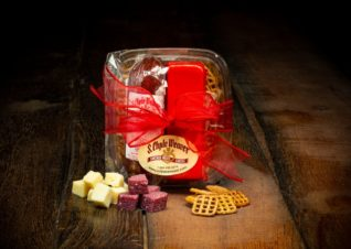 meat and cheese gift basket