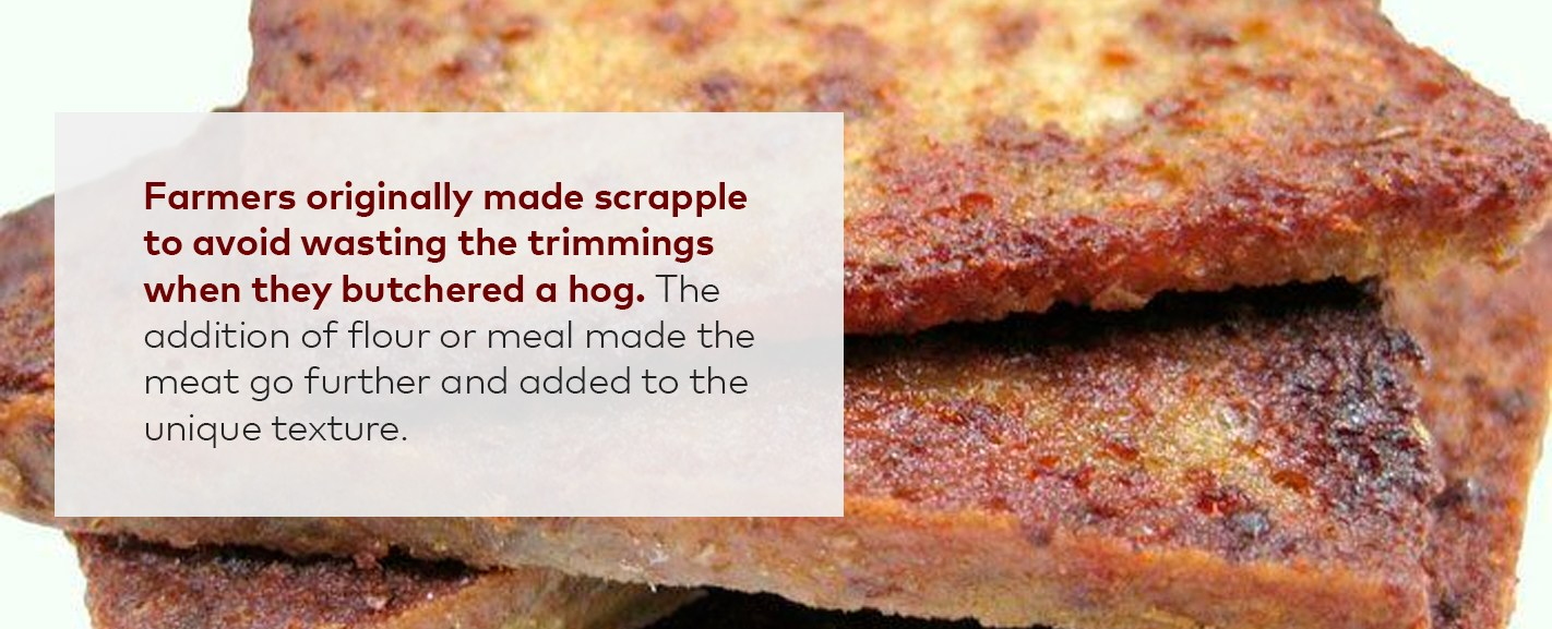 fried scrapple