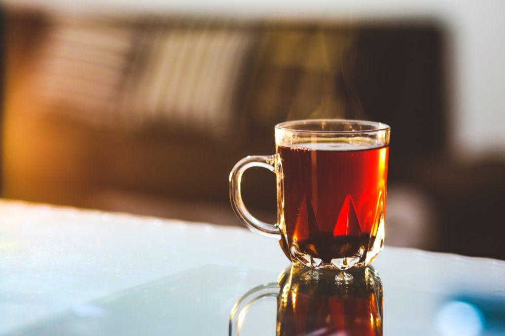 winter weather tea