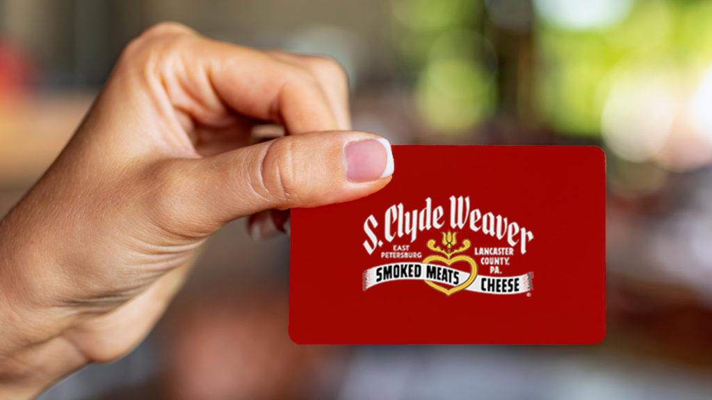 Send a virtual S. Clyde Weaver gift card today!