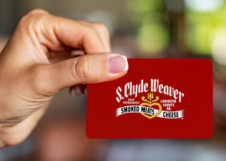Send a virtual S. Clyde Weaver gift card today!
