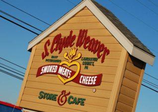 S. Clyde Weaver Sign