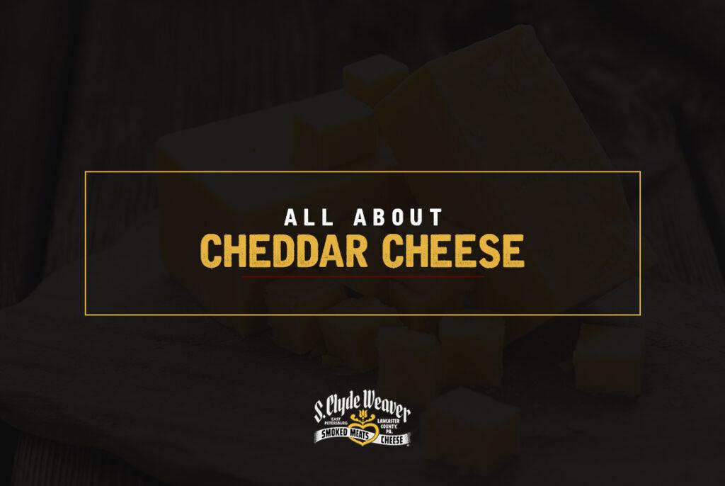 Cheddar Cheese on a board