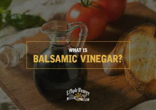 Container of Balsamic Vinegar